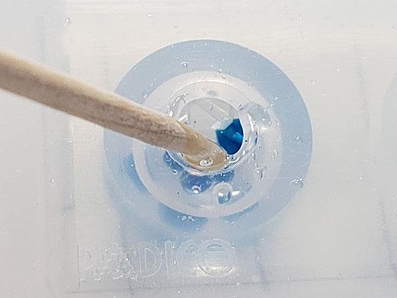 レジンアクセサリーの作り方 球体レジン