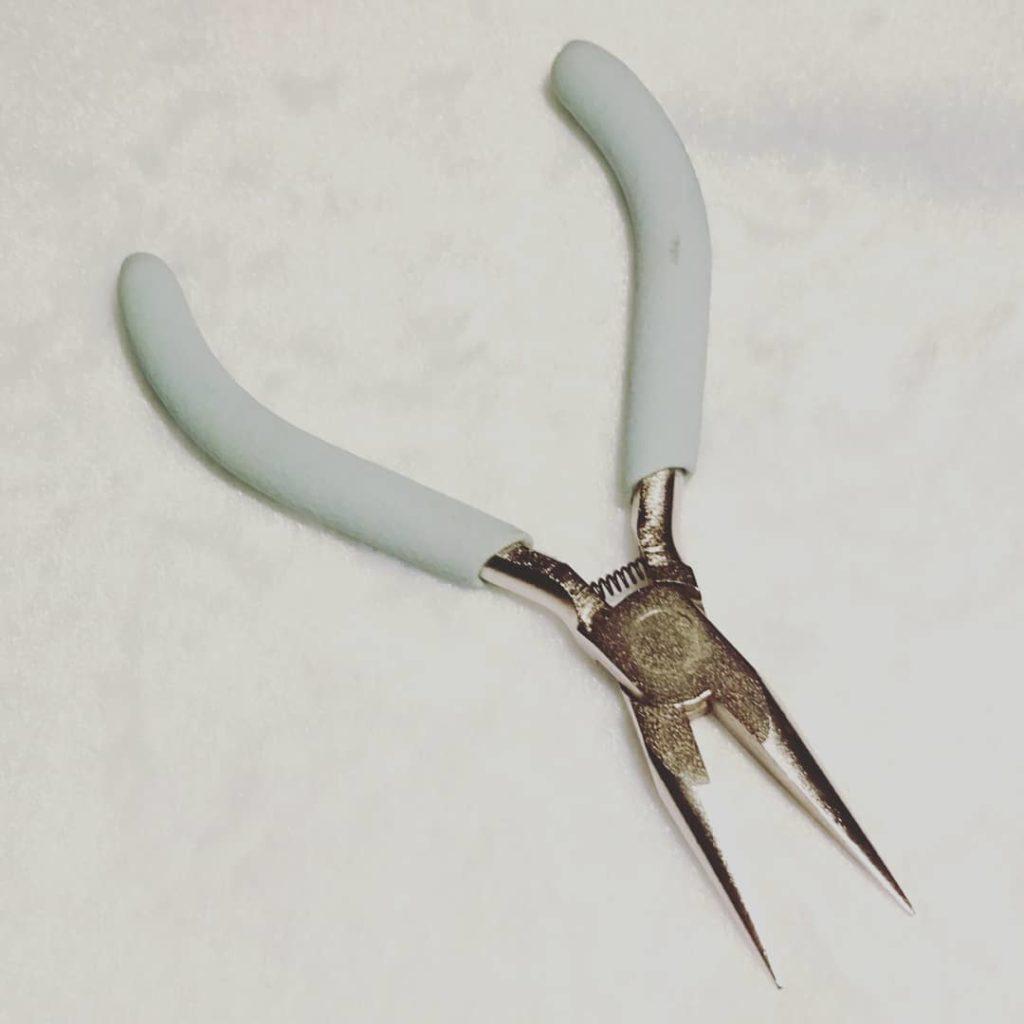 ハンドメイド専用工具の平ペンチ