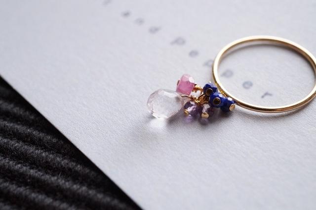 ハンドメイドの指輪の作り方