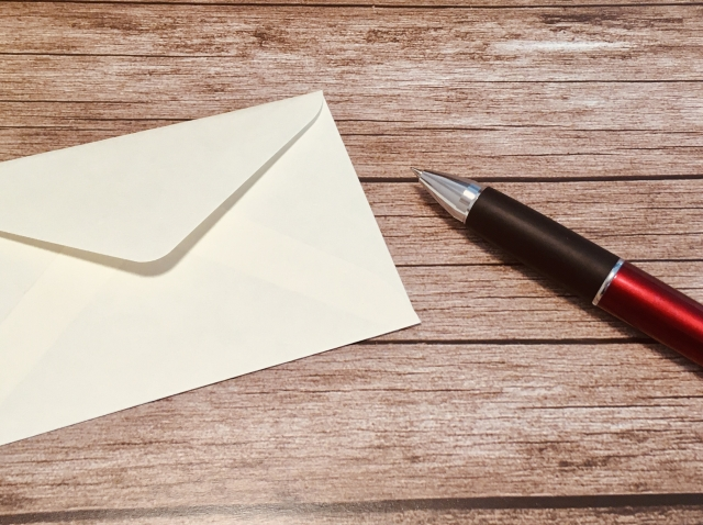 ハンドメイド作品に添えるお礼状は宅配便で送る時は無封にする